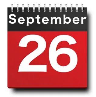 26 september